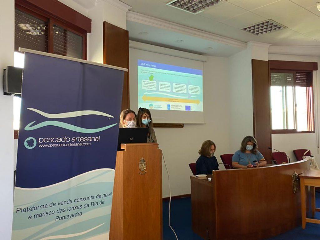 """Presentación del Proyecto """"Asesoramento e acompañamentos aos comercializadores e restauradores»"""