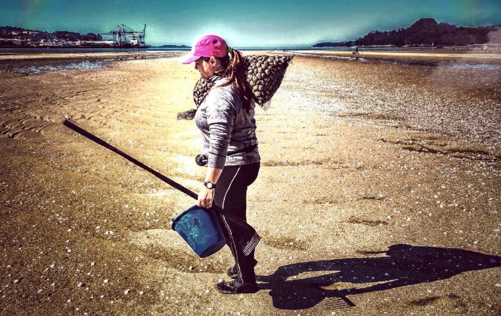 Entrevista con una mariscadora de la Cofradía de Lourizán